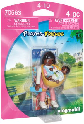 PLAYMOBIL Playmo-Friends 70563 Maman et bébé