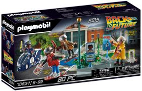 PLAYMOBIL Back to the Future 70634 Course d'hoverboard