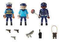 PLAYMOBIL City Action 70669 Equipe de policiers