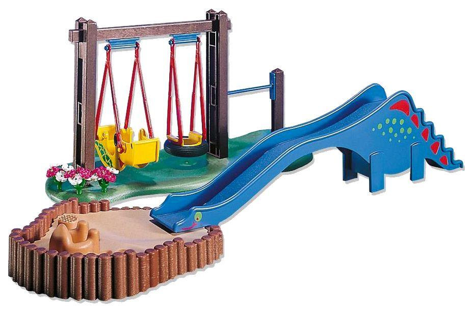 Playmobil Produits Complémentaires 7328 Balançoire Toboggan