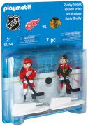 PLAYMOBIL Sports & Action 9014 Rivalité - Chicago Blackhawks vs Detroit Red Wings (NHL)