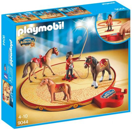 PLAYMOBIL City Life 9044 Dressage de chevaux du Cirque Roncalli