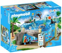PLAYMOBIL Family Fun 9060 Aquarium marin