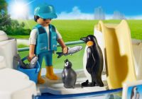 PLAYMOBIL Family Fun 9062 Bassin de manchots
