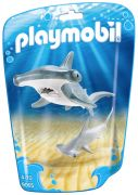 PLAYMOBIL Family Fun 9065 Requin-marteau et son petit