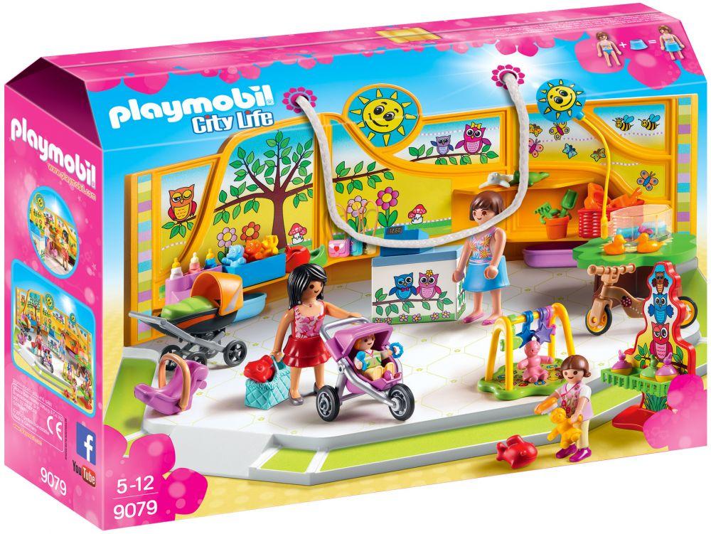 PLAYMOBIL City Life 9079 pas cher - Magasin pour bébés fd02a2f41a38