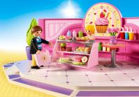 PLAYMOBIL City Life 9080 Café Cupcake