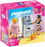 PLAYMOBIL City Life 9081 - Distributeur automatique pas cher