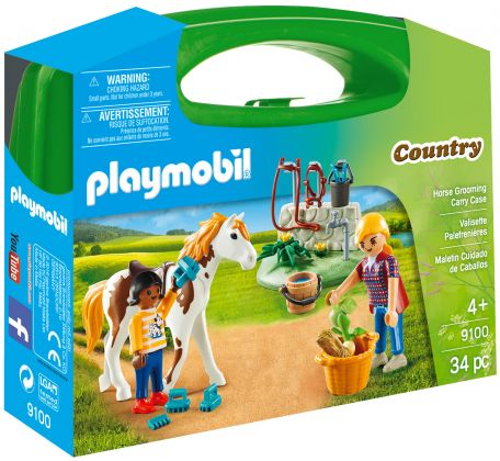 PLAYMOBIL Country 9100 Valisette Palefrenières