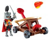 PLAYMOBIL Knights 9106 Valisette Chevalier et Catapulte