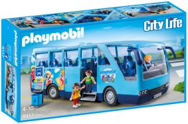 PLAYMOBIL City Life 9117 - Bus FunPark pas cher