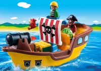 PLAYMOBIL 123 9118 Bâteau de pirates