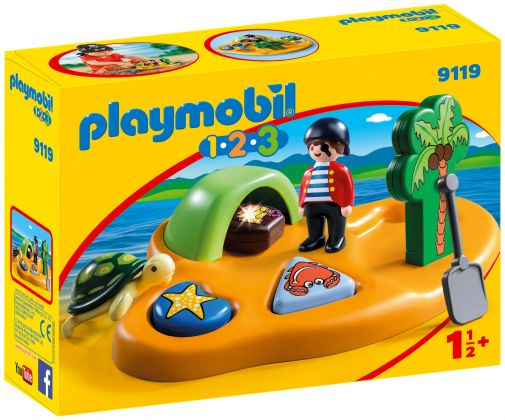 PLAYMOBIL 123 9119 Île de pirate