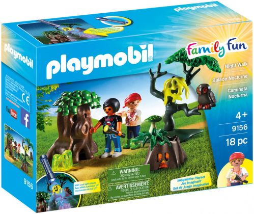 PLAYMOBIL Family Fun 9156 Balade nocturne