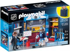 PLAYMOBIL Sports & Action 9176 Coffret du vestiaire (NHL)