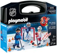 PLAYMOBIL Sports & Action 9177 Valisette tirs de barrage (NHL)