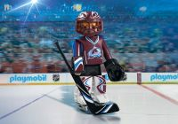 PLAYMOBIL Sports & Action 9189 Gardien de but du Colorado Avalanche (NHL)