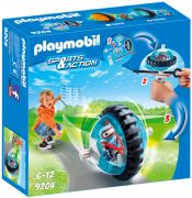 PLAYMOBIL Sports & Action 9204 Toupie bleue