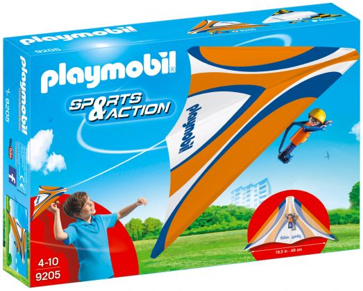 PLAYMOBIL Sports & Action 9205 Deltaplane orange