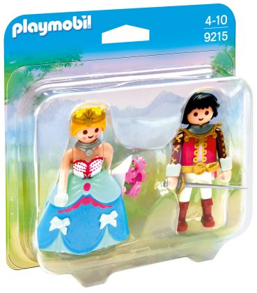 PLAYMOBIL Princess 9215 Duo Prince et princesse