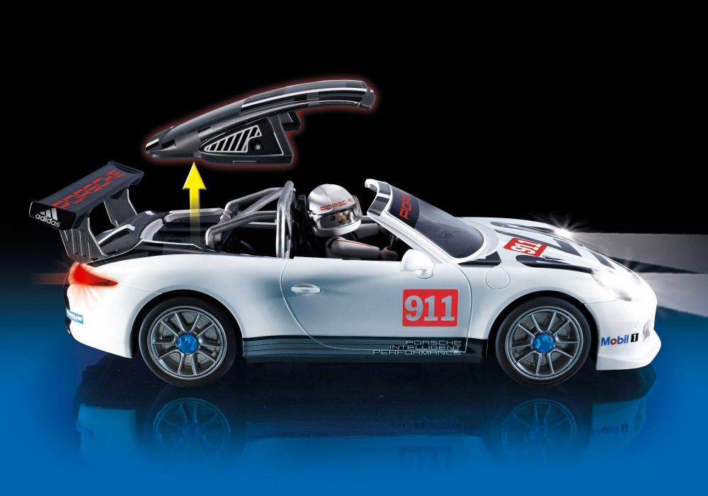 playmobil sports action 9225 pas cher porsche 911 gt3 cup. Black Bedroom Furniture Sets. Home Design Ideas
