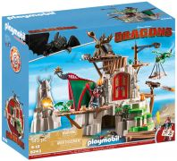 PLAYMOBIL Dragons (DreamWorks) 9243 Campement de l'île de Beurk