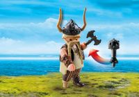 PLAYMOBIL Dragons (DreamWorks) 9245 Gueulfor avec catapulte