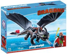 PLAYMOBIL Dragons (DreamWorks) 9246 Harold et Krokmou