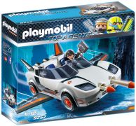 PLAYMOBIL Top Agents 9252 Voiture de l'agent Pilote