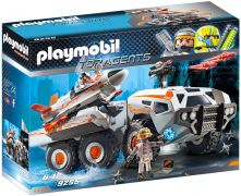 PLAYMOBIL Top Agents 9255 Camion et navette de la Spy Team
