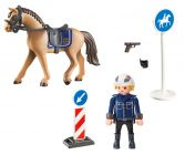 PLAYMOBIL Country 9260 Policier avec cheval