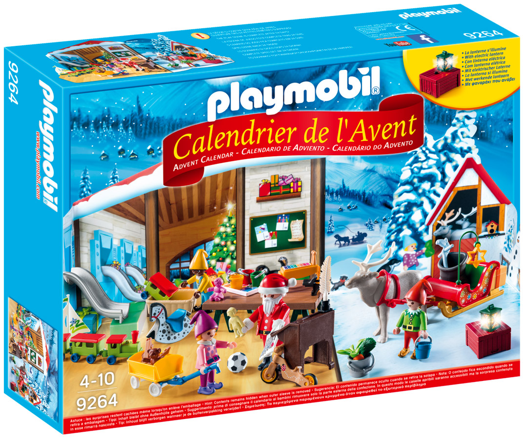 playmobil christmas 9264 pas cher calendrier de l 39 avent fabique du p re no l. Black Bedroom Furniture Sets. Home Design Ideas