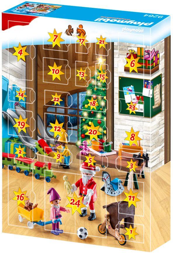 playmobil christmas 9264 pas cher calendrier de l 39 avent fabique du p re no l. Black Bedroom Furniture Sets. Home Design Ideas