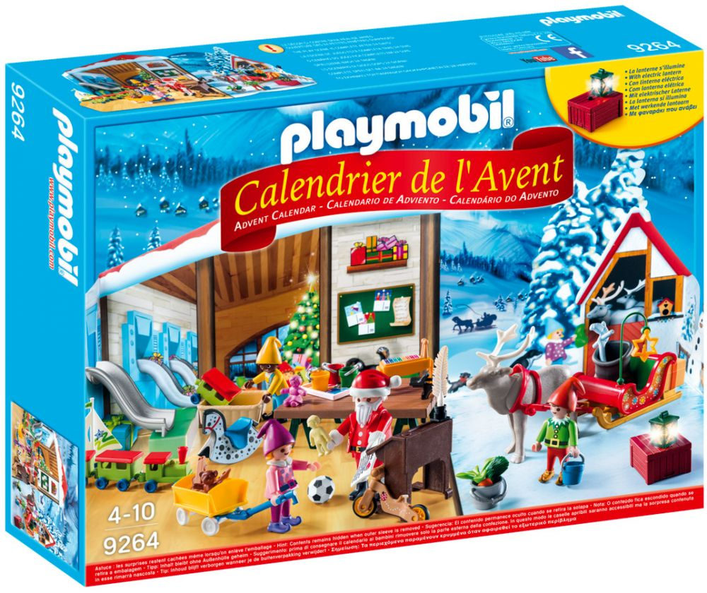 playmobil christmas 9264 pas cher calendrier de l 39 avent. Black Bedroom Furniture Sets. Home Design Ideas