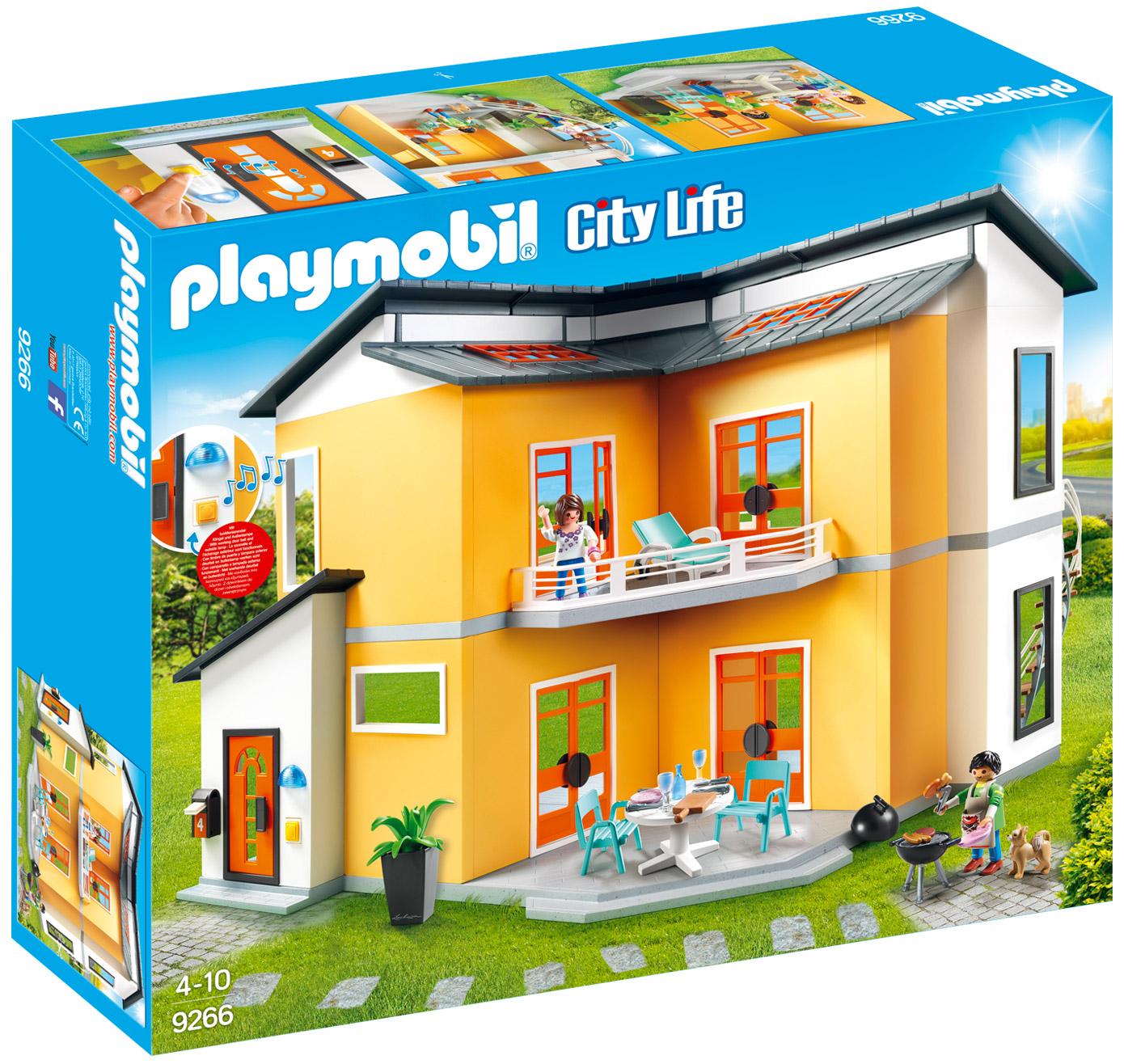 Playmobil city life 9266 pas cher maison moderne - Maison les moins cher ...