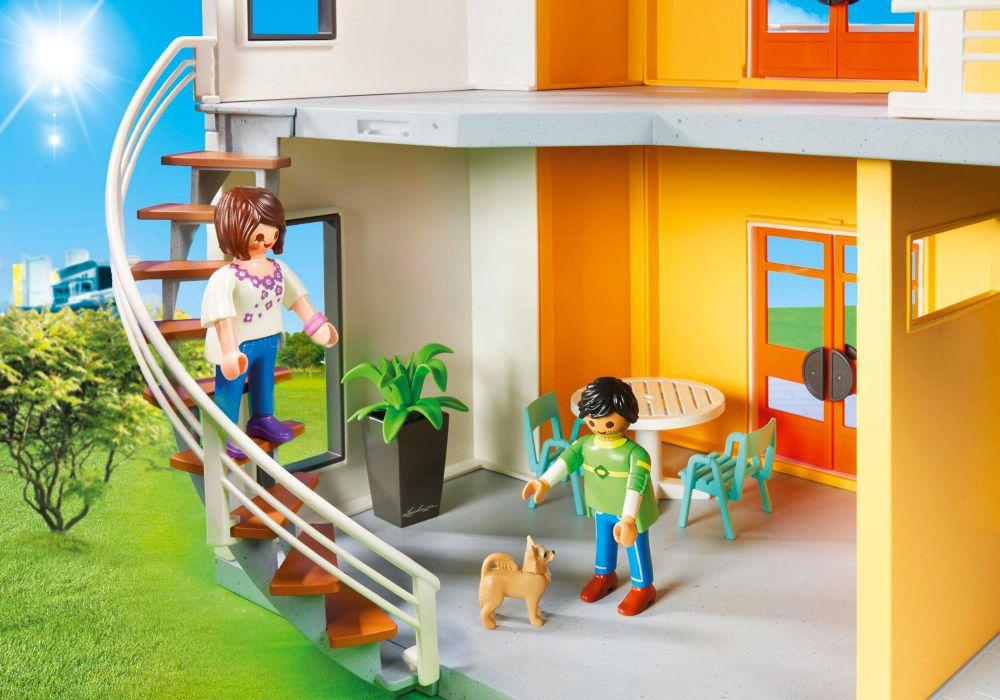 Playmobil City Life Maison Moderne : Playmobil city life pas cher maison moderne