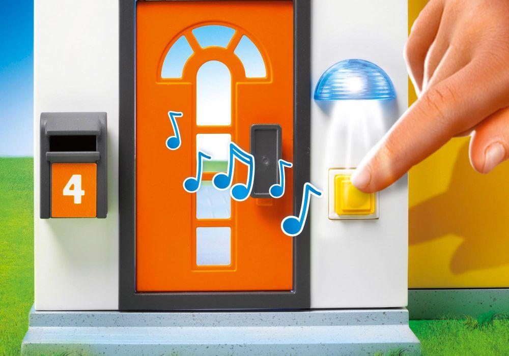 Playmobil city life 9266 pas cher maison moderne for Casa moderna playmobil 9266