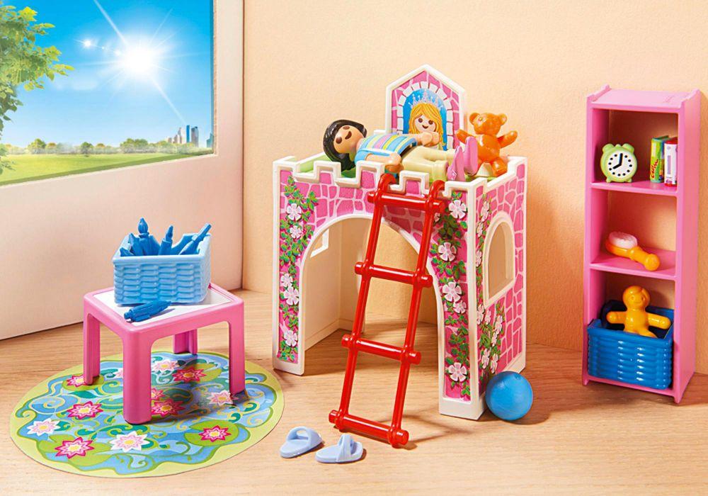 Playmobil city life 9270 pas cher chambre d 39 enfant - Playmobil chambre enfant ...