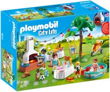 PLAYMOBIL City Life 9272 Famille et barbecue estival