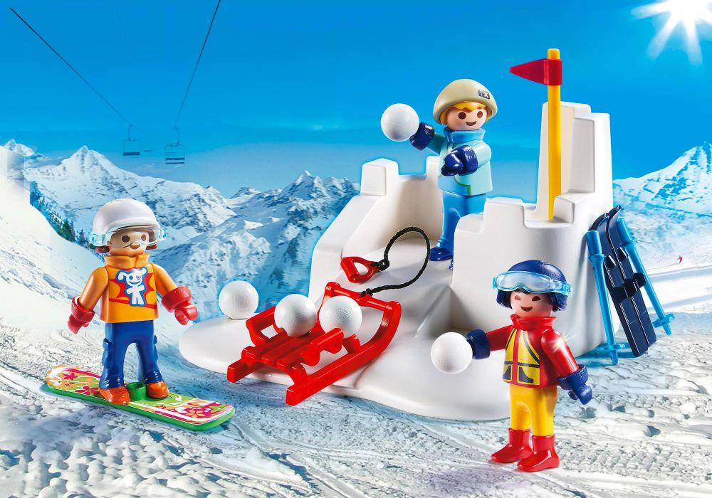 playmobil family fun 9283 pas cher enfants avec boules. Black Bedroom Furniture Sets. Home Design Ideas