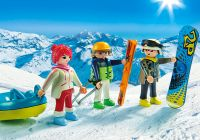 PLAYMOBIL Family Fun 9286 Vacanciers aux sports d'hiver