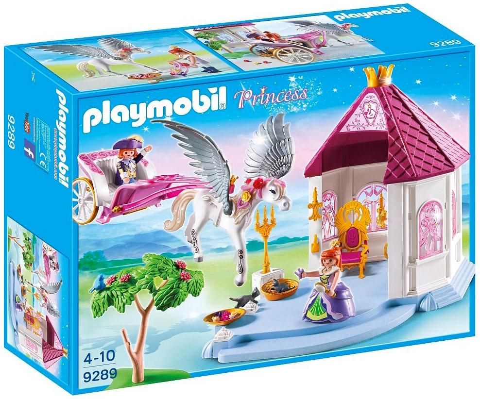 Playmobil princess 9289 pas cher pavillon du roi avec for Chateau playmobil princesse 5142