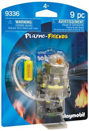 PLAYMOBIL Playmo-Friends 9336 Pompier