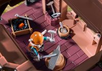 PLAYMOBIL Knights 9340 Tour d'attaque mobile des nains