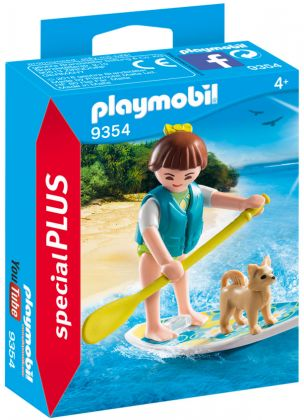 PLAYMOBIL Special Plus 9354 Sportive avec paddle