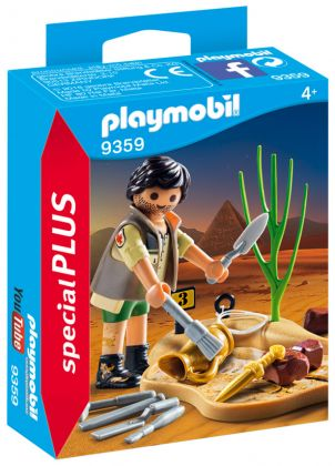 PLAYMOBIL Special Plus 9359 Archéologue