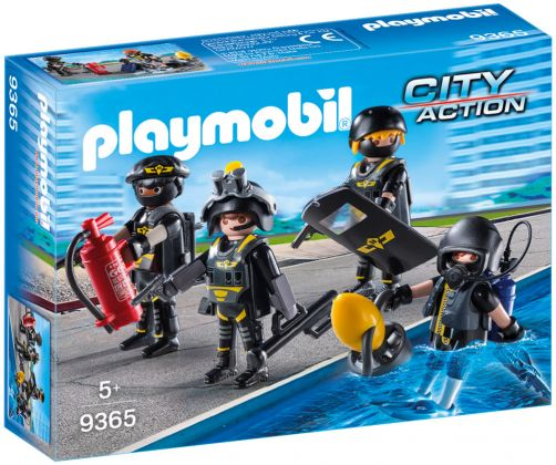 PLAYMOBIL City Action 9365 Policiers d'élite