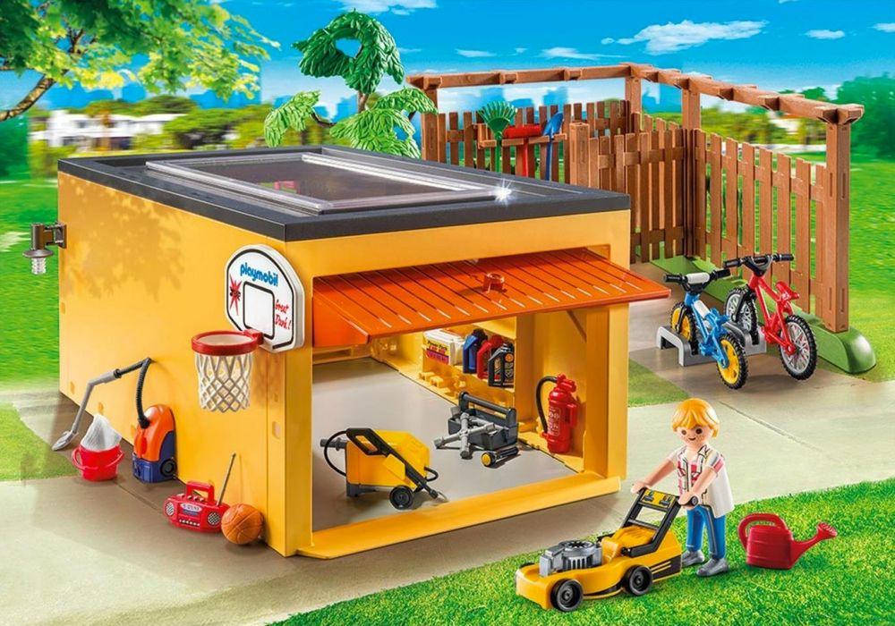 Playmobil City Life 9368 Pas Cher Garage Avec Emplacements Pour Velos