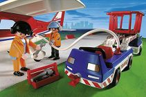 PLAYMOBIL City Action 9369 Avion rouge