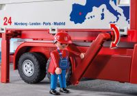 PLAYMOBIL City Action 9370 Camion de transport de marchandises